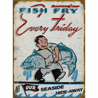 Fish Fry Personalized Signs