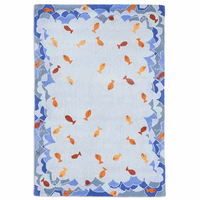 Fish Hooked Wool Rug Collection