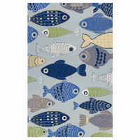 Fish in the Ocean Rug Collection