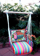 Fish Le Jardin Stripe Swing Set
