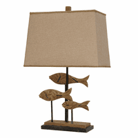 Fish Trio Table Lamp