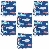 Fisherman's Bay Napkins - Set of 6