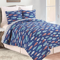 Fisherman's Bay Quilt Bedding Collection