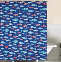 Fisherman's Bay Shower Curtain