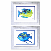 Fishing Around Framed Art - Set of 2