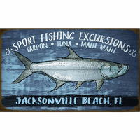 Fishing Excursion Personalized Sign