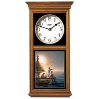 Fishing Friends Regulator Clock