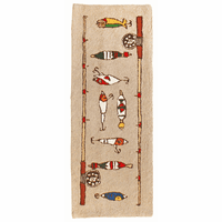 Fishing Rod and Lures Rug - 2 x 8