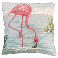 Flamingo Drinking Pillow