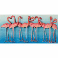 Flamingo Family Wall Décor