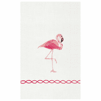 Flamingo Guest Towels - Set of 6