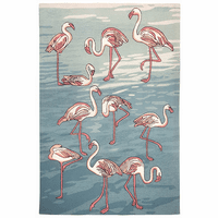 Flamingo Island Indoor/Outdoor Rug Collection