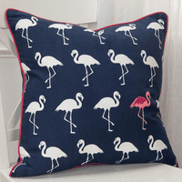 Flamingo March Pillow
