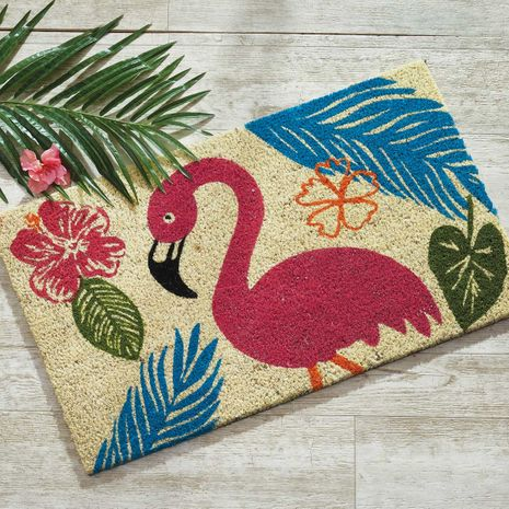 Flamingo Palms Coir Mat