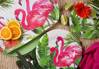 Flamingo Tropics Dinnerware Collection