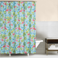 Flamingo Tropics Shower Curtain