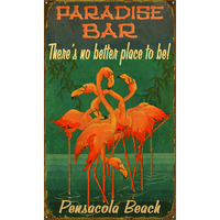 Flamingos Personalized Signs