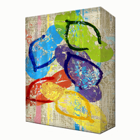 Flip Flops Metal Wall Art