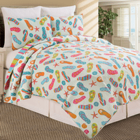 Flip Flops Quilt Bedding Collection