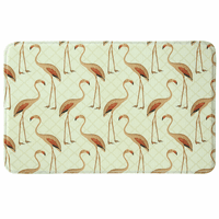 Flock of Flamingos Memory Foam Mat Collection