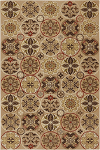 Floral Quilt Rug Collection