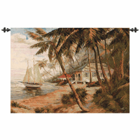 Florida Escape Wall Tapestry