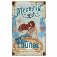 Floridian Mermaid Personalized Sign