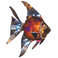 Flowing Copper Dripped Angelfish