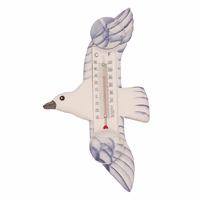Flying Seagull Window Thermometer