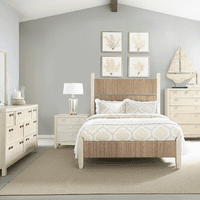 Fog & Seagrass Bedroom Furniture Collection