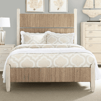 Fog & Seagrass Complete Bed - Queen