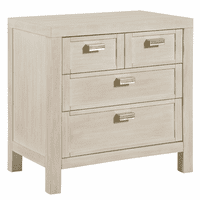 Fog & Seagrass Four Drawer Nightstand - OVERSTOCK