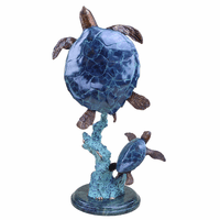 Follow Me Sea Turtle Sculpture