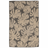 Forest Fronds Gray Indoor/Outdoor Rug Collection