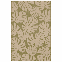 Forest Fronds Green Indoor/Outdoor Rug Collection