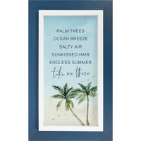 Forever Memories Palms Wall Décor