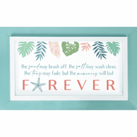 Forever Memories Sand Wall Décor