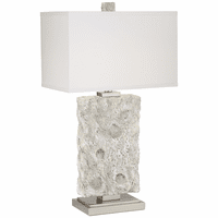 Fossilized Shells Table Lamp