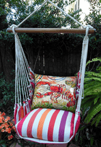 Fresh Lobster Cristina Stripe Swing Set