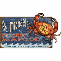Freshest Seafood Personalized Wood Signs