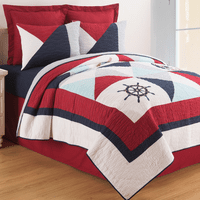 Friday Harbor Quilt Set - Twin