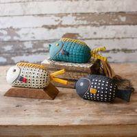 Friendly Fish Table Statuaries - Set of 3