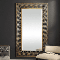 Galtero Gold Wall Mirror