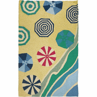 Geometric Umbrellas Indoor/Outdoor Rug Collection