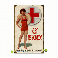Get Rescued Personalized Signs