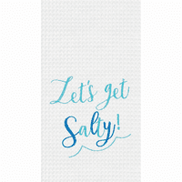 Get Salty Waffle Weave Towels - Set of 6