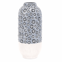 Gina Large Cutwork Vase