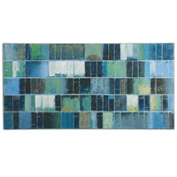 Glass Tiles Canvas Wall Art