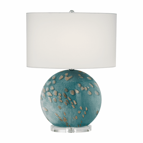 Gold Spotted Table Lamp