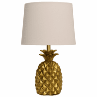 Golden Aloha Table Lamp